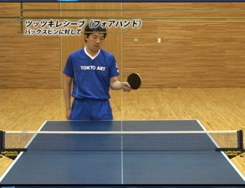 遊澤亮驚異の卓球上達法 サンプル写真大 10