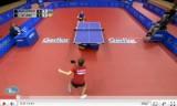 【卓球】 2011EuropeTop12 リージャオVSパブロビッチ