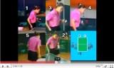 王楠(中国)の卓球サービス技術の教え