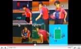 張怡寧(中国)の卓球サービス技術の教え