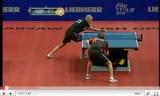 メイスの卓球サービス技術の教え1
