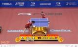 世界卓球2011 福原愛VSチャンモー(1回戦)