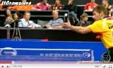 世界卓球2011 梁柱恩(香港)VSシュテガー