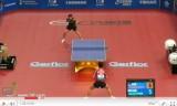 世界卓球2011 朱世赫VSカラカセビッチ