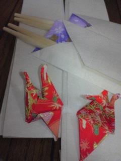 お正月箸袋