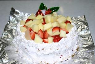 上の子の誕生日ケーキ