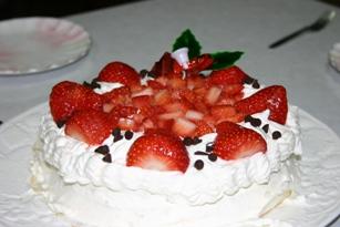 わたくし目の誕生日ケーキ