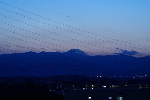 夕方の富士山2