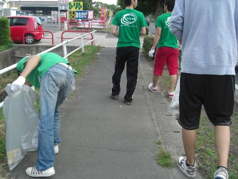 清掃活動20090620