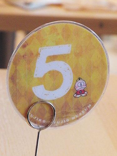 藤子カフェナンバープレート