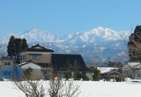剱岳と大日岳
