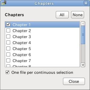 Ubuntu iriverter DVDチャプター