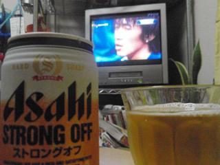 サッカーとビール