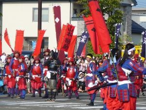 山本勘助と鎧部隊