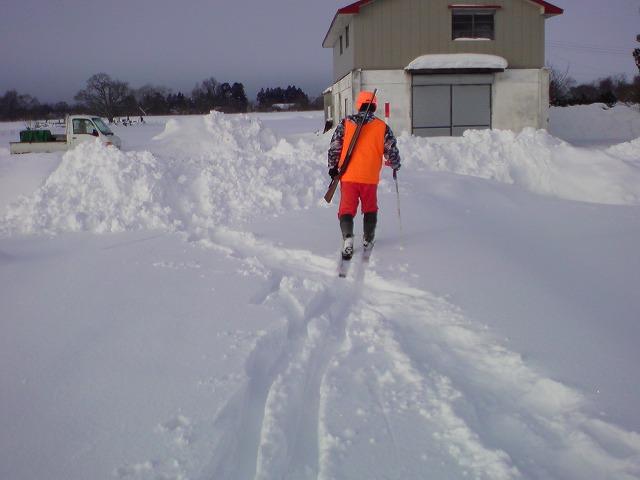 スキーでじかみさん