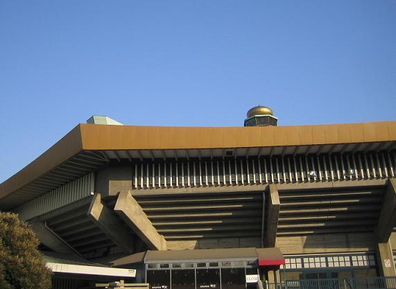 久々に来た日本武道館。大きな玉ねぎは健在!