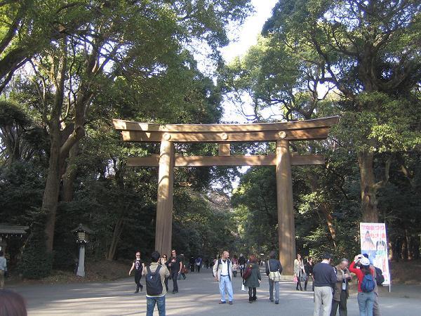 明治神宮の入口