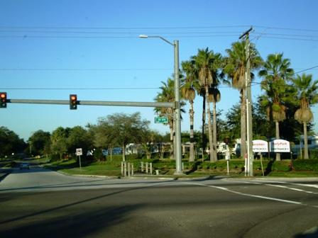 冬のフロリダ