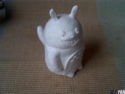 紙粘土トトロ1