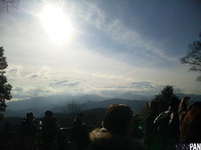 高尾山初詣1