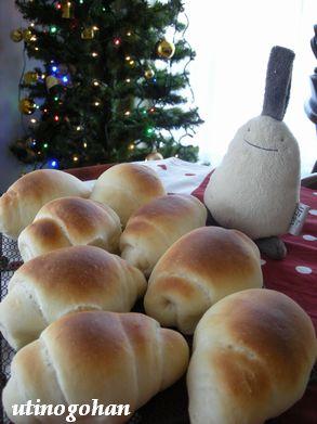 12月1日 ホエー入りロールパン