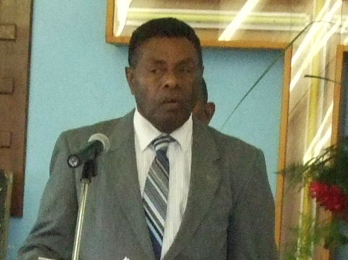 Iolu Johnson Abil バヌアツ大統領