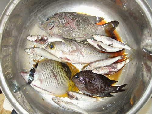 煮魚にする