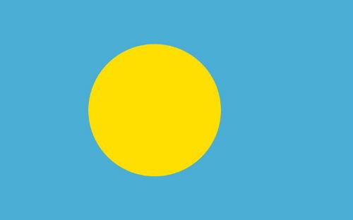 パラオ国旗