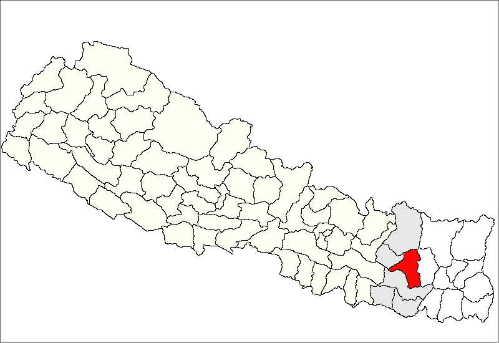 Khotang map