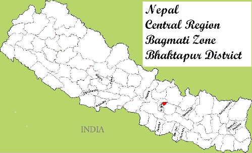 Nepal Map_Bhaktapur