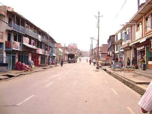 Dhading Main street