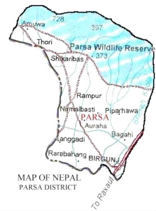 Parsa district