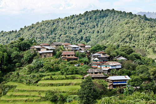 Lamjung view5 village_iletaxar