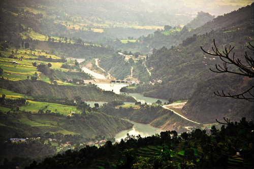 Lamjung view6_Middlemarshyangdi