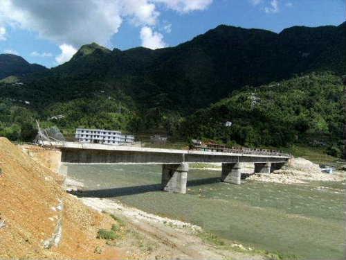 Syangja district bridge