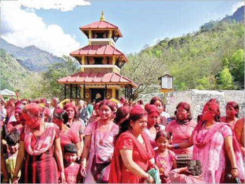 Myagdi festival