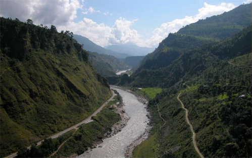 Baglung river