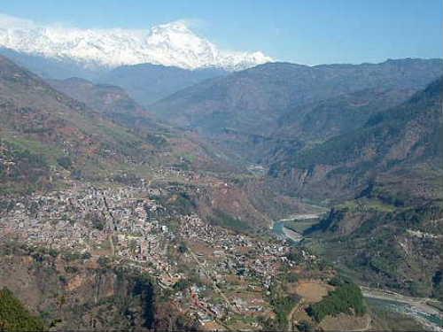 Baglunge bazar view