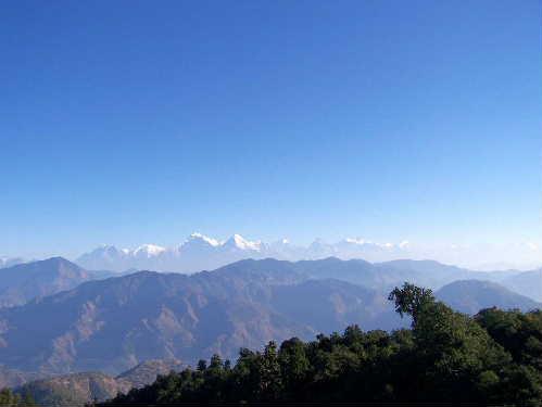 Annapurna range from Gulmi