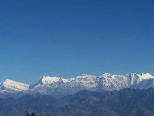 Dhaulagiri range from Gulmi