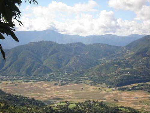 Pyuthan view Jhimruk_Valley