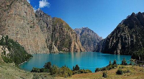 Phoksumdo lake in Dolpa