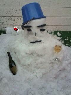 セレブ雪だるま