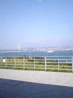 淡路から見る大阪湾