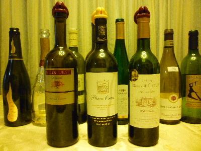 お家ワイン会25