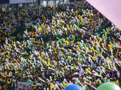 阪神vs巨人オープン戦9
