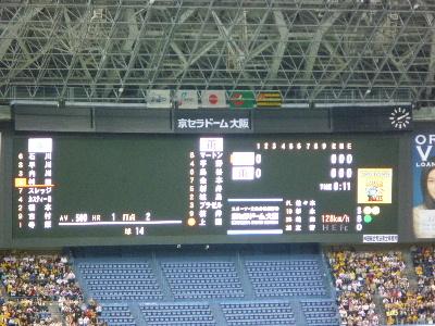 阪神vs横浜in京セラドーム4