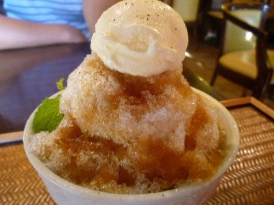 珈琲味カキ氷