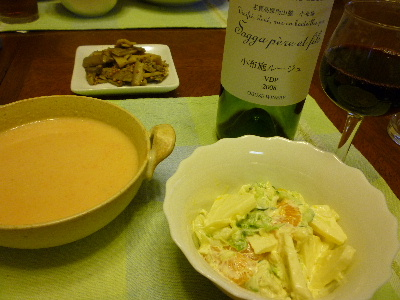 カリフラワーのスープ