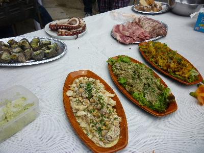 収穫祭の料理1